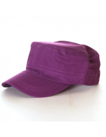 Vintage Plain Cap/Purple