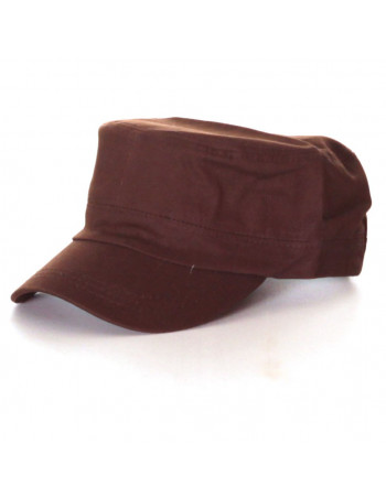 Vintage Plain Cap/Brown
