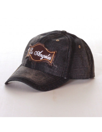 Los Angeles Denim Vintage Fashion Cap/Black