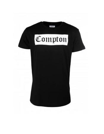 Thug Life Compton Tee Black
