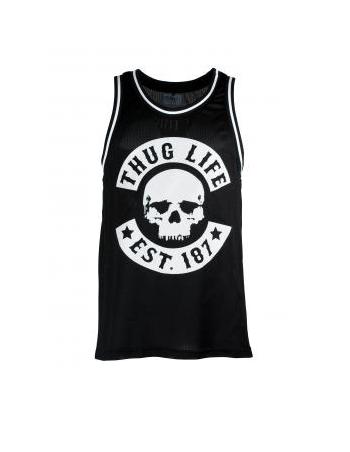 Thug Life Skull TankTop Black
