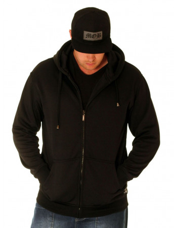 BSAT Bronx ZipHoodie All Black