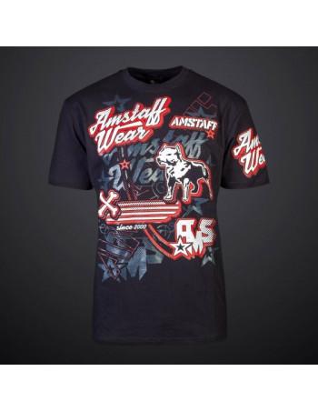 Amstaff Verros T-Shirt Black