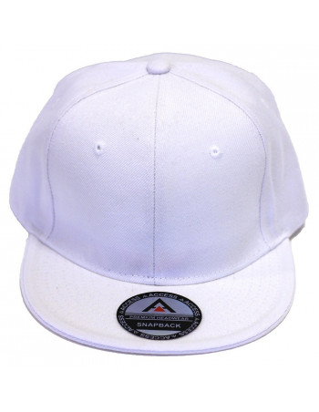 White Fitted Cap by Access Apparel
