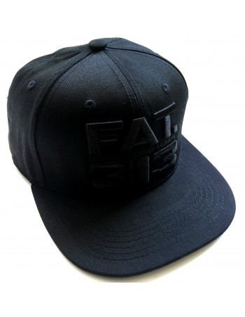 FAT313 Ultimate League CAP All Black