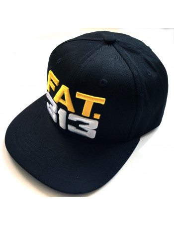 FAT313 Glory Cap YellowNWhite