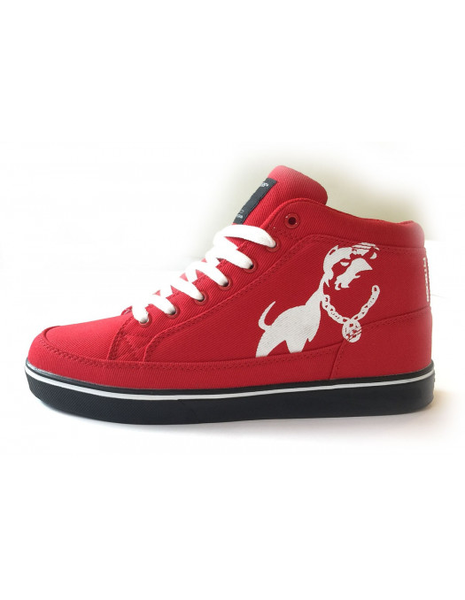 Doggz Dept. RedNWhite Sneakers from Pitbos5.515
