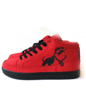 Doggz Dept. RedNBlack Sneakers from Pitbos5.515