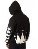 Crown Bronx Hoodie Black by BSAT