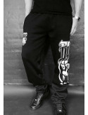 FAT.313 Bomber Dog Sweatpants Black