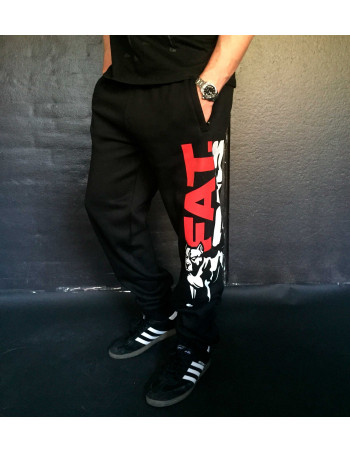 FAT.313 Legend Sweatpants Black RedNWhite