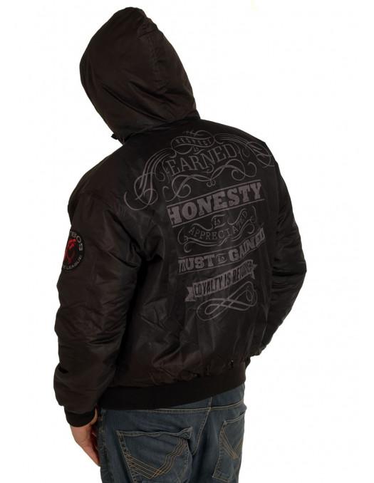 Pitbos Winter Jacket Black