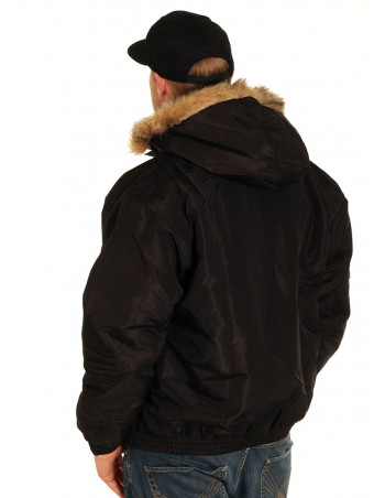 BSAT Big Winter Jacket Black