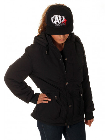 Ladies winter jacket black