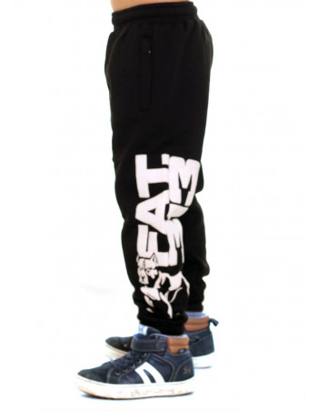 FAT.313 Kids Legend Standout Sweatpants BlackNWhite