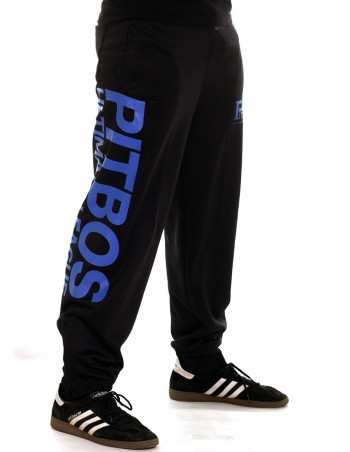 Pitbos Ultimate League Sweatpants BlackNBlue