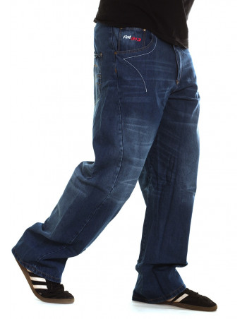 FAT313 Renew Legend Jeans Blue Stone Washed