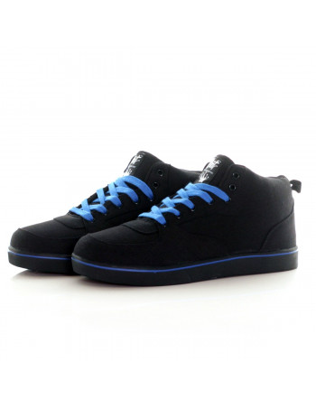 BSAT Bronx Canvas Sneakers BlackNBlue