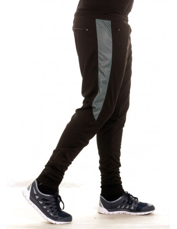 BSAT Panther Track Pants BlackNGrey
