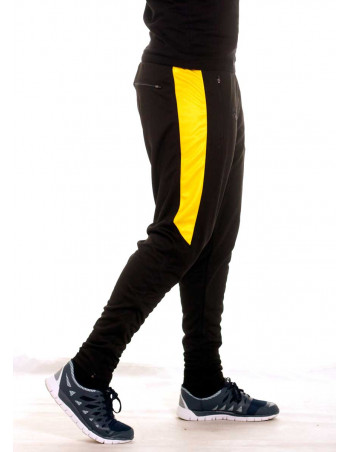 BSAT Panther Track Pants BlackNYellow