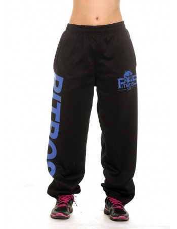 Pitbos Ultimate League Sweatpants Ladies BlackNBlue