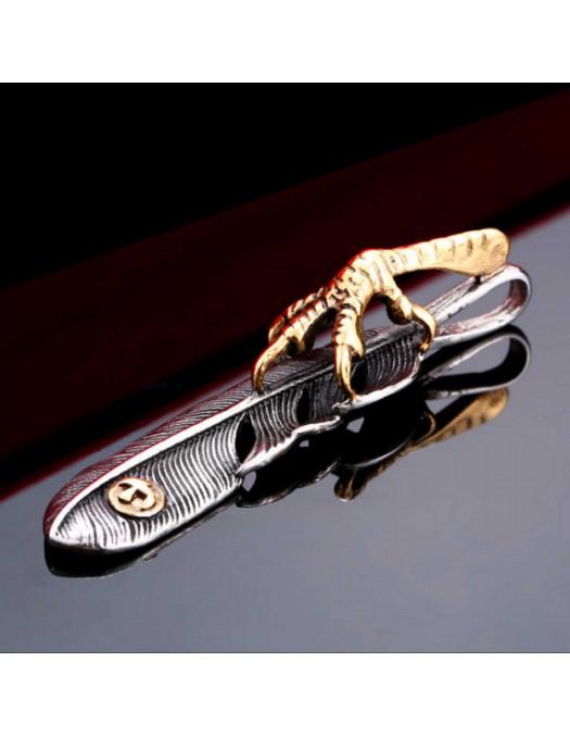 Eagle Claw Feather Pendant I