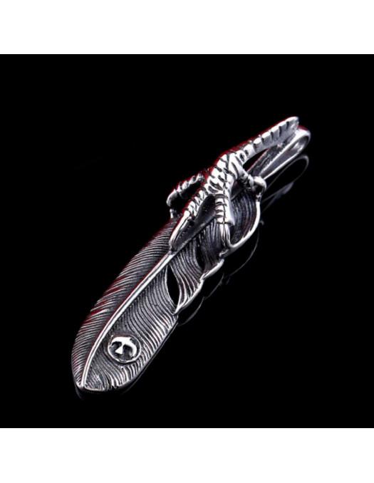 Eagle Claw Feather Pendant II