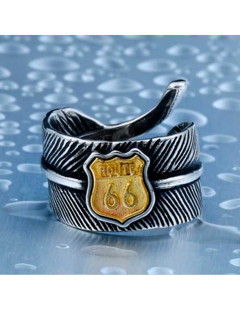 Route 66 Feather Ring