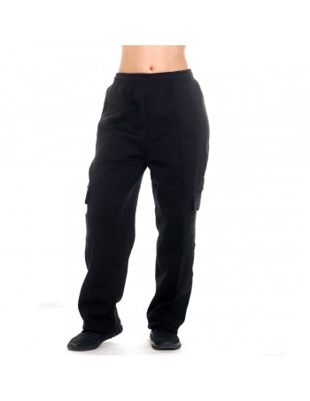 Urban Cargo Sweatpants Black