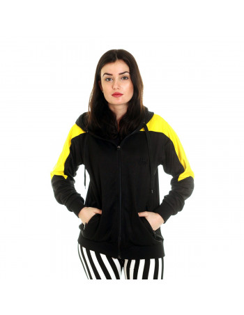 Panther Track Jacket BlackNYellow by BSAT
