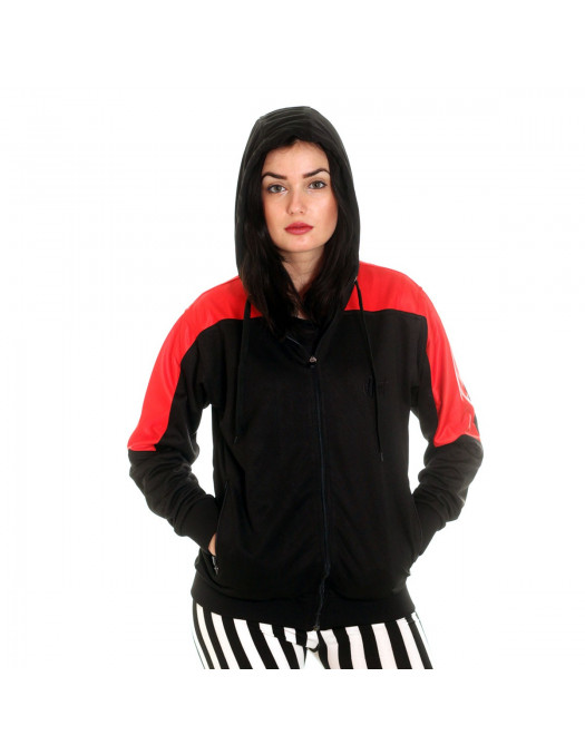 Panther Track Jacket BlackNRed by BSAT