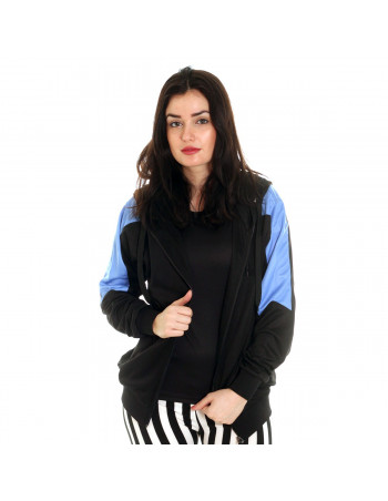Panther Track Jacket BlackNBlue by BSAT