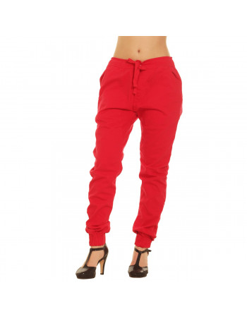 Jogger Pants Red