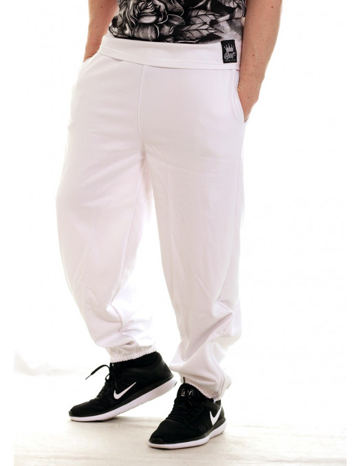 Bronx Sweatpants All White by BSAT