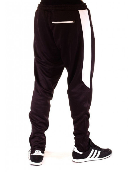 BSAT Panther Track Pants BlackNWhite