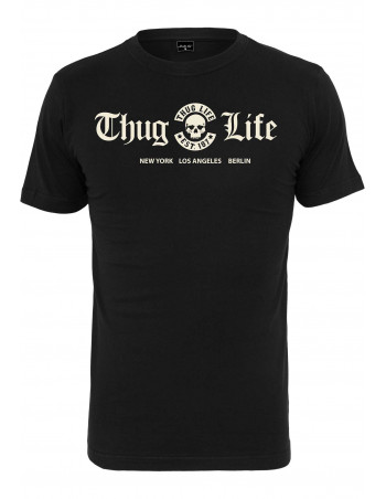 HipHop Thug Life Tee Black