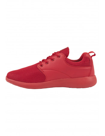 Light Casual Street Shoes All Red