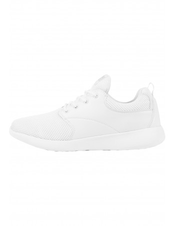 Light Casual Street Shoes All White