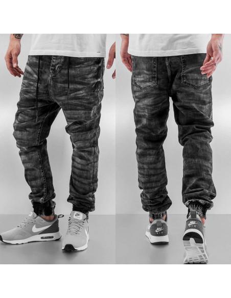 Urban Streeters Antifit Jeans Black Washed