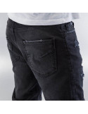 Destroyed Antifit Jeans Black