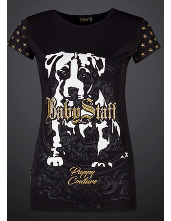 Puppy Couture Tee Black