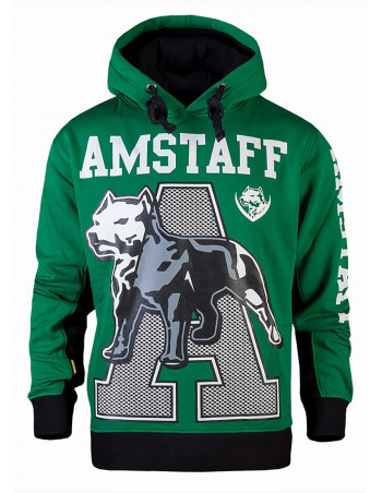Amstaff Athletic Green Hoody