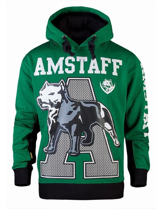 Amstaff Athletic Green Hoody
