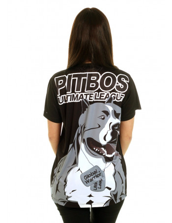 Global Warrior female Tee Grey by Pitbos