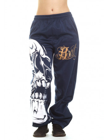 Big Skull Royal Sweatpants by BSAT