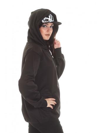 BSAT Bronx ZipHoodie Black