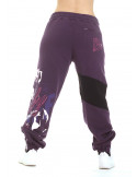 Purple Puppy Love Sweatpants
