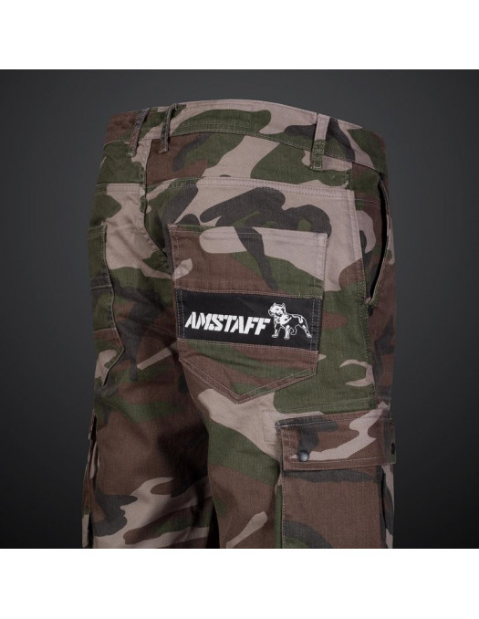 Camo Denim Cargo Shorts by Amstaff