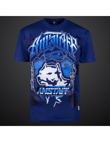 Dog Troop Unit Tee Blue by Amstaff