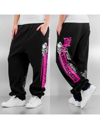 Skull Sweatpants BlackNPink